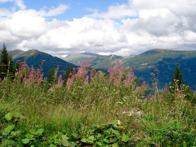 Nockberge mountains