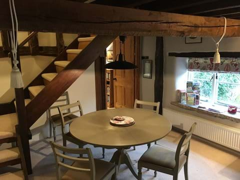 Cosy Dining Area in Mill Cottage