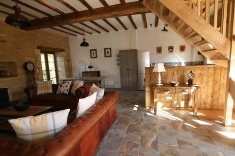 Oak Barn living area