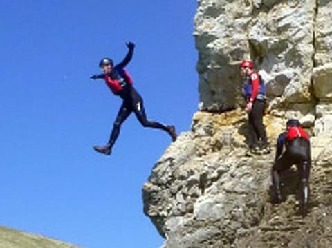 Try coasteering, kayaking and climbing with Land & Wave