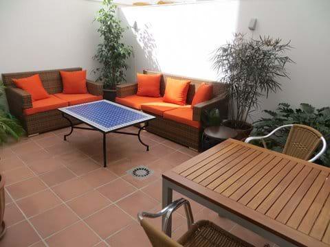 Terrace at Apartment San Felipe