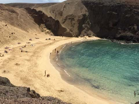 Beautiful unspolit beaches at Papagayo