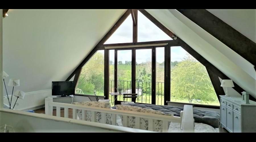 Gables - 1st floor open plan living area