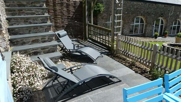 Relax and Enjoy the View from the Sun Loungers