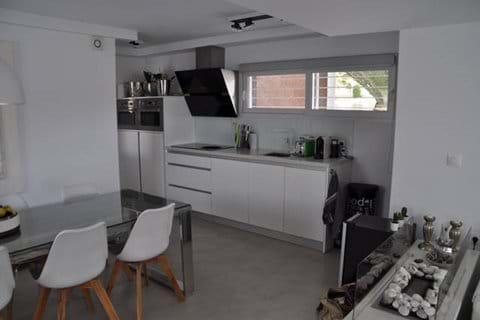 Luxurious open kitchen