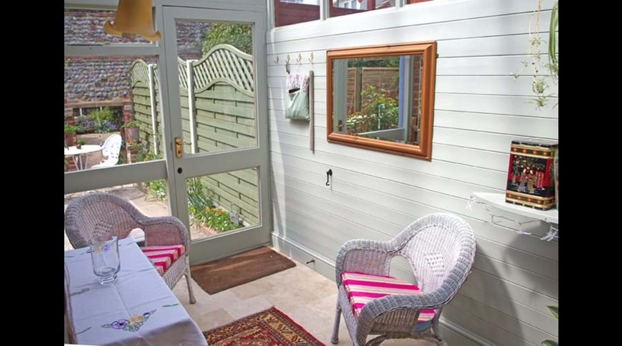 Albion Cottage conservatory