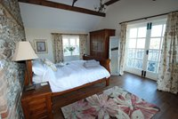 Beautiful bedrooms with views over surrounding countryside