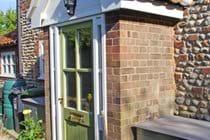 Albion Cottage front door