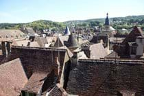 The roofs of Sarlat