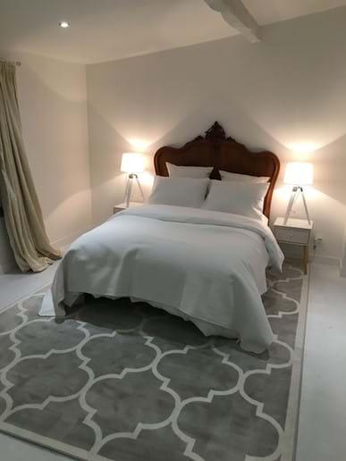 Garden bedroom.