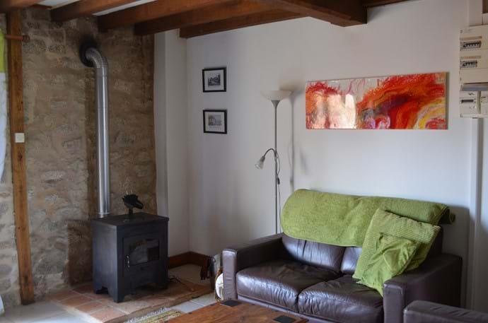 The Sidings - 4 person gîte - Lounge area