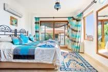 Bedroom with Private Balcony and Sea Views