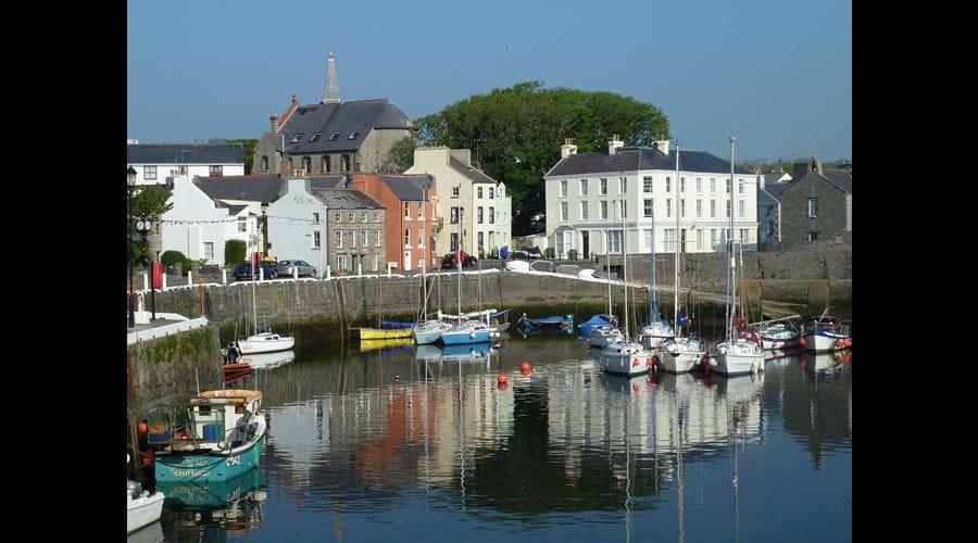 Castletown harbour.