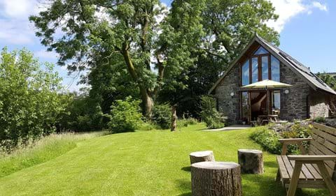 Sit, sleep, read, play games or just listen to the breeze in the trees in the enclosed garden