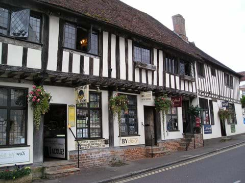 Selection of Shops in Lavenham