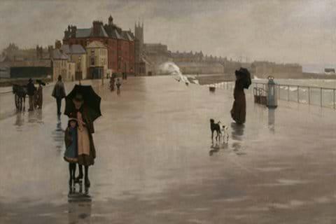 The Rain it Raineth Every Day, Norman Garstin-Penlee Gallery
