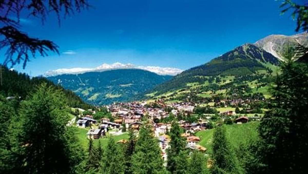 Klosters Village in Summer