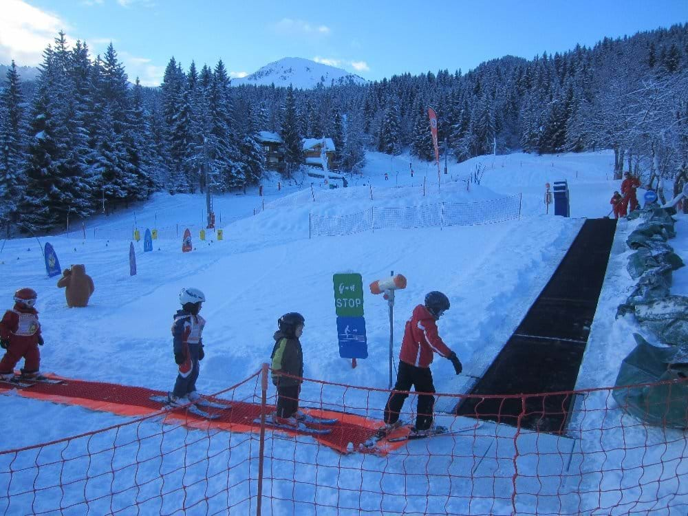 ESF ski area for young children