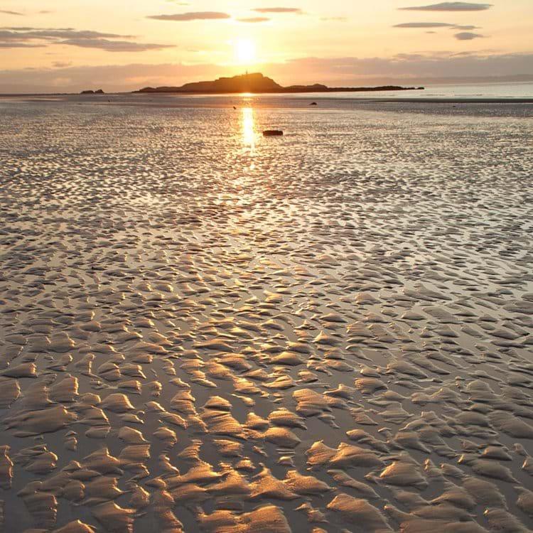 Yellowcraigs Beach & Fidra