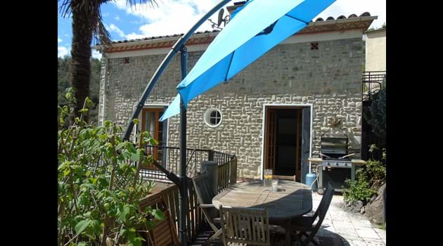 Casa Sola BBQ and Terrace Area
