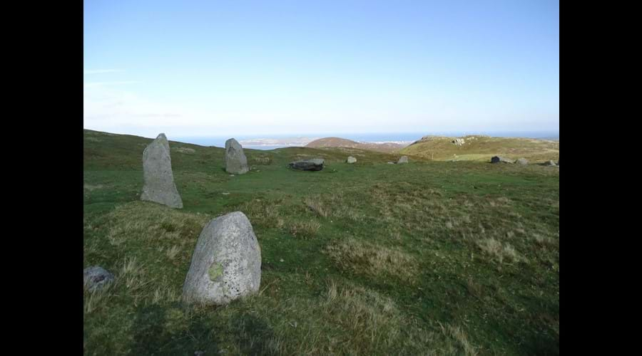 The Druids Circle above Penmaenmawr