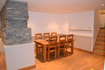 Dining Area with Solid Oak Table