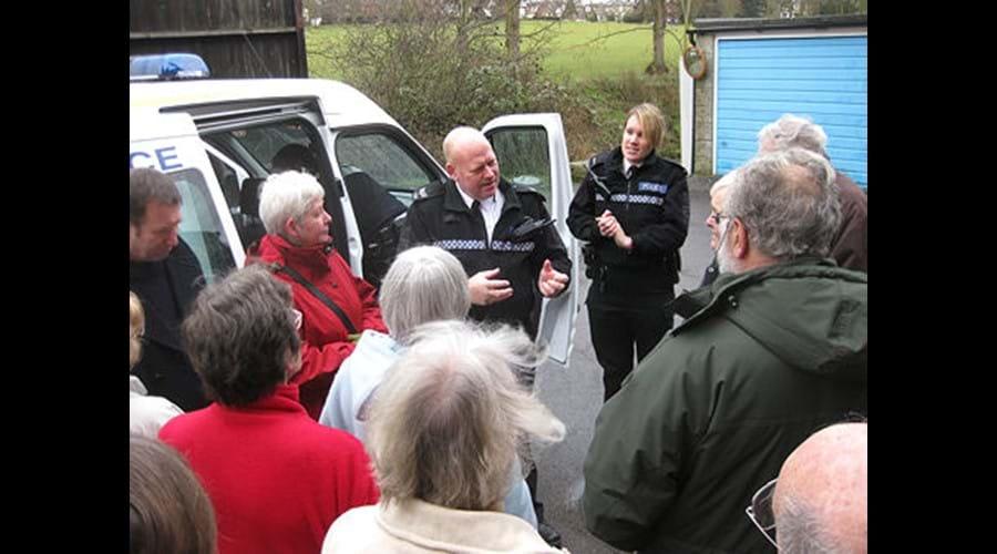 Police Station visit