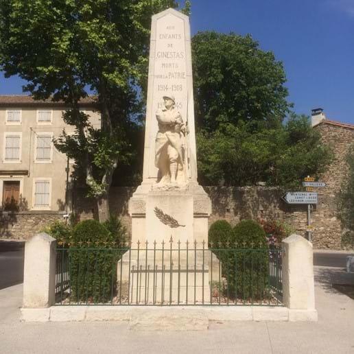 Ginestas war memorial