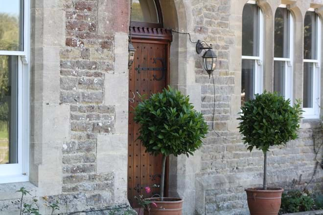 Side Entrance to The Rectory Lacock