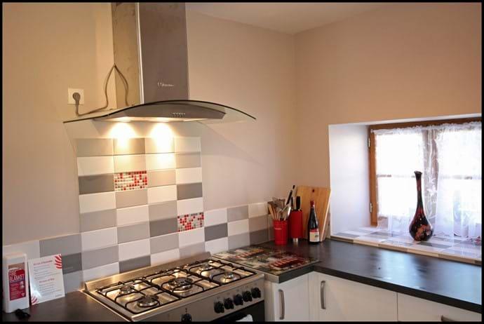Loire Valley self catering gite  range cooker