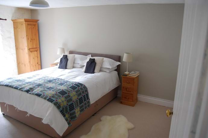 Sunny king size bedroom
