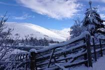 Braemar winter view