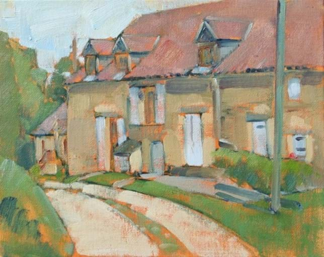 Painting by artist John Nicholson