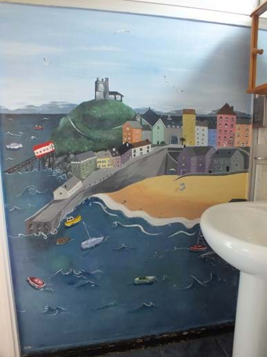 Mural of Tenby by Abby