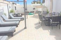 Lovely sunny patio