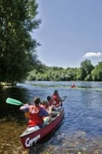 Canoeing Puy L'Eveque