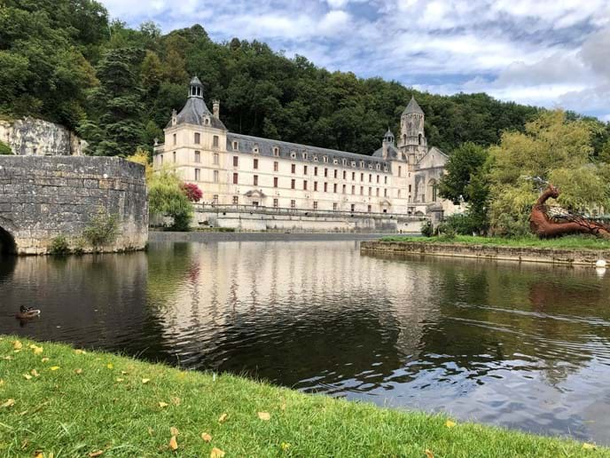 The Abbey at Brantome