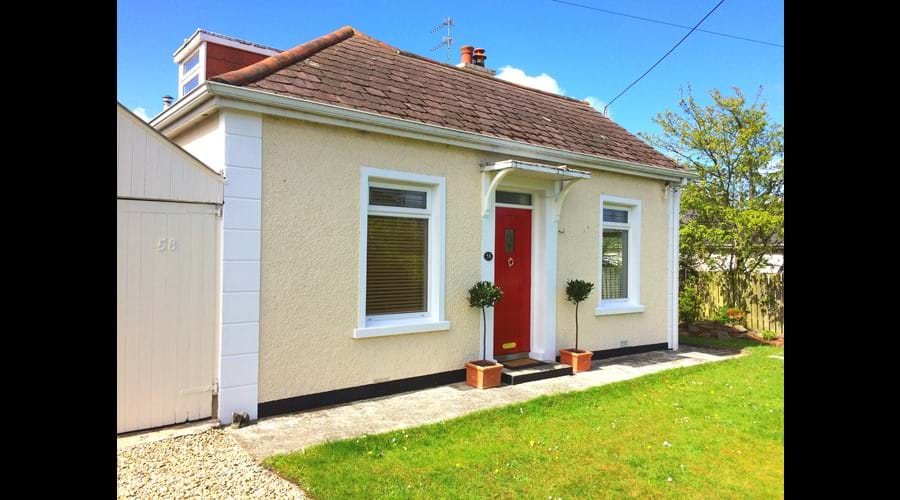 Our traditional seaside cottage is a 15 minute walk to the beach