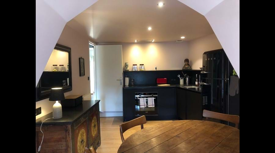 Kitchen fully equiped