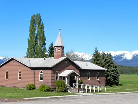 The Little Brown Church-a historical landmark