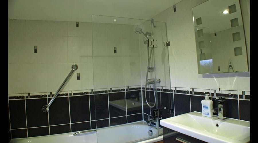 The second bathroom
