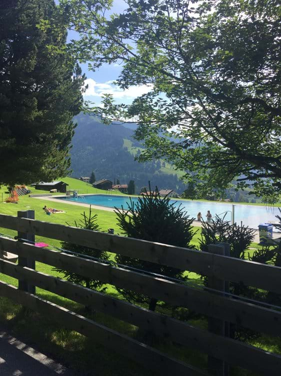 The highest Swimming Pool in the Alps - beautiful