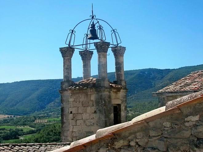 Luberon village of Lacoste.