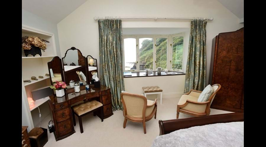 Master Bedroom with views towards the sea