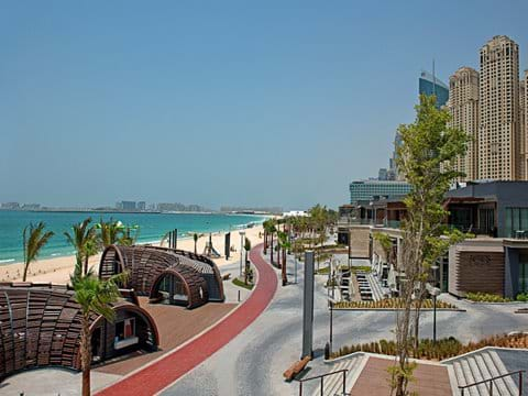 Located in the best position on JBR walk