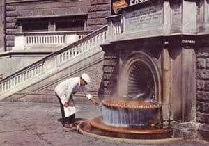 Hot spring at Acqui Terme