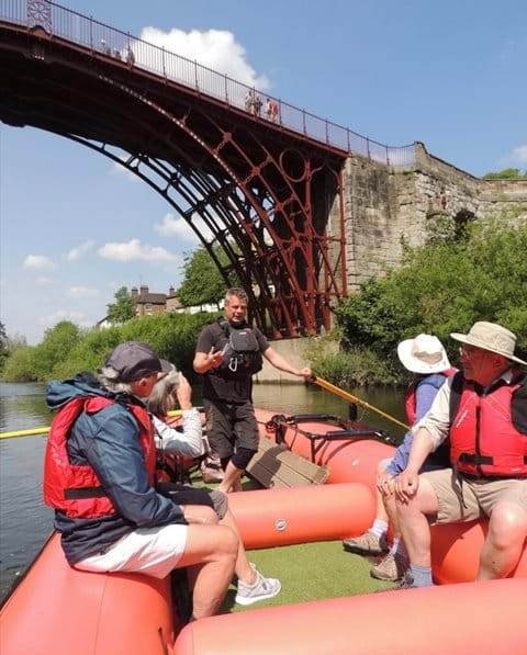 TAKE A RAFT TOUR ON THE RIVER SEVERN WITH SHROPSHIRE RAFT TOURS