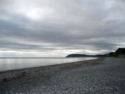 Enjoy the September emptiness of Killiney beach See http://www.visitdublin.com/best-dublin-beaches