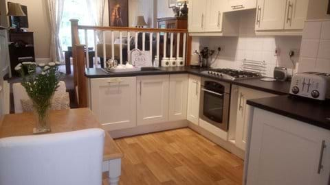 KITCHEN AT IRONBRIDGE VIEW TOWNHOUSE