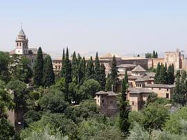 Alhambra Palace in Granada, 2,5 hours away from Condado